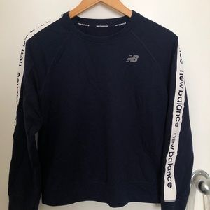 New balance crew neck casual sweater